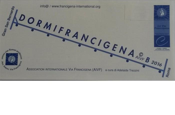 DORMIfrancigena - Italie 2016